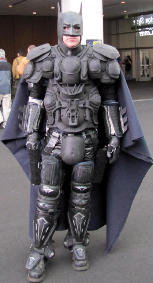 Emerald City ComicCon 2011 - Batman costume at its finest