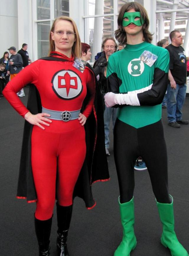 Emerald City ComicCon 2011 - Costumed Crusaders!