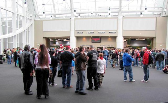 Emerald City ComicCon 2011 - Inside the center
