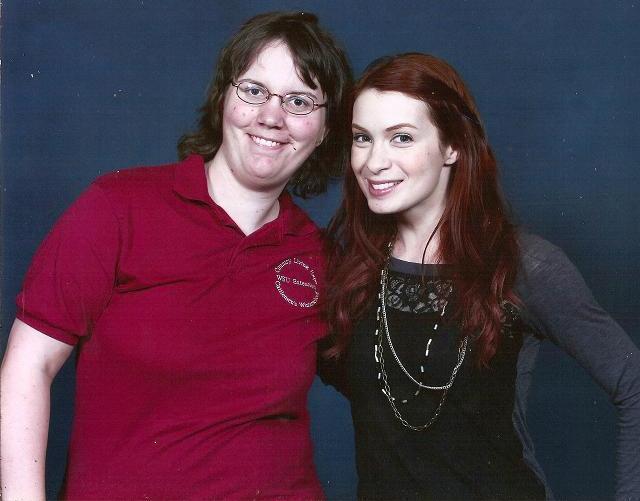 Emerald City ComicCon 2011 - Kassandra and Felicia Day