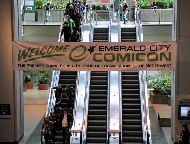 Emerald City ComicCon 2011 Entrance Banner