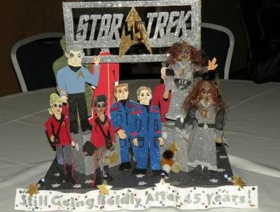 Star Trek San Francisco 2011 - Table centerpiece