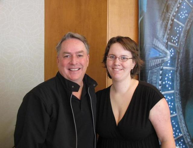 Stargate Vancouver 2011 - Brad Wright and MacKenziesMomma