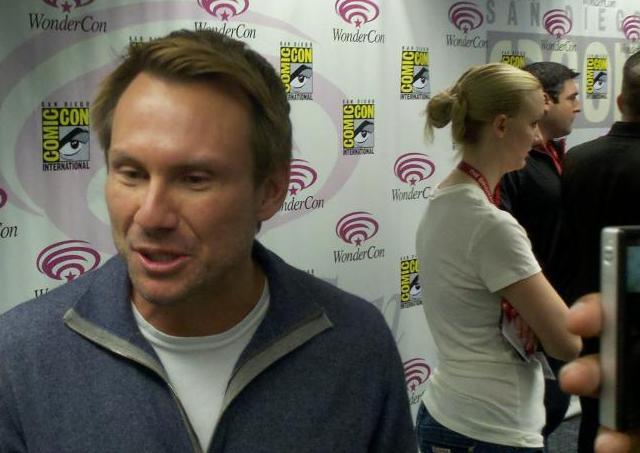 Breaking In - WonderCon 2011 - Christian Slater