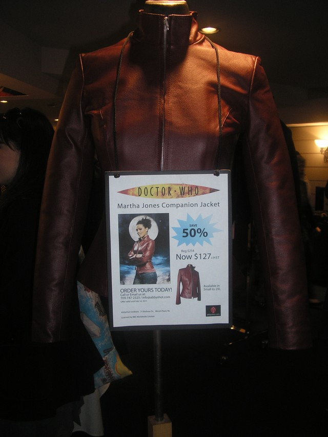 Scifi on the Rock - Doctor Who replica jacket