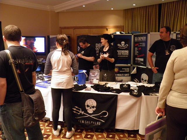 Chevron 7.6 - Sea Sheperd vendors room