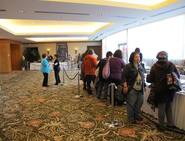 Stargate Vancouver Spring 2011 - Registration area