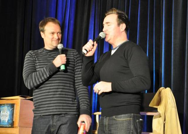 Stagate Vancon 2011 David Hewlett and Paul McGillion