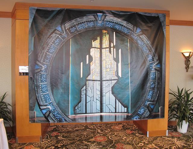 Stargate Vancouver Spring 2011 - Atlantis Banner!