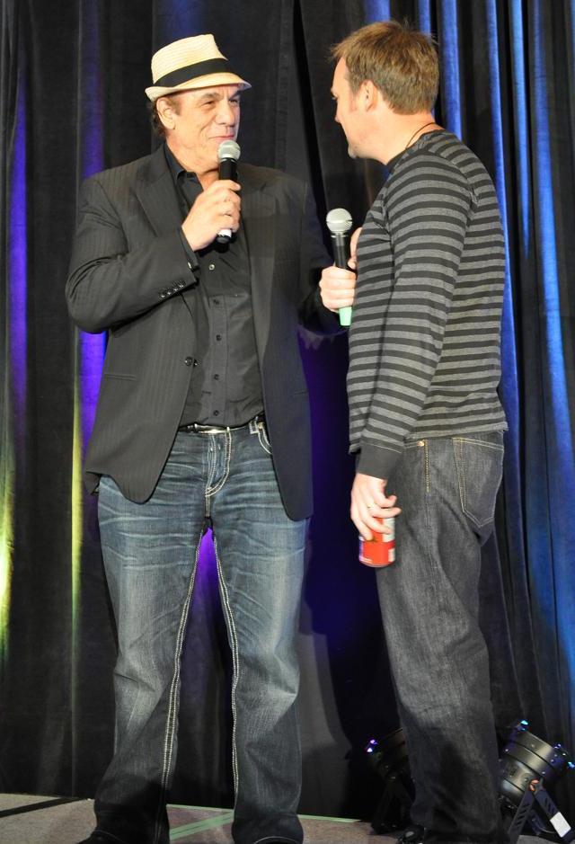 Stargate Cancouver 2011 - Robert Davi and David Hewlett