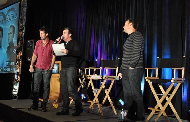 Stargate VanCon 2011 - Joe, David and Paul!