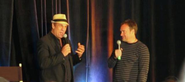 Stargate Vancouver 2011 - Robert Davi and David Hewlett