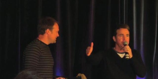 Stargate Vancouver 2011 - David Hewlett and Paul McGillion