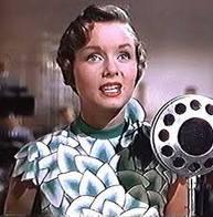 Debbie Reynolds from Singin in the Rain
