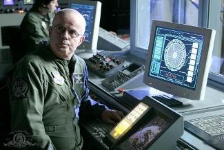 Gary Jones as Stargate SG-1's Walter Harriman