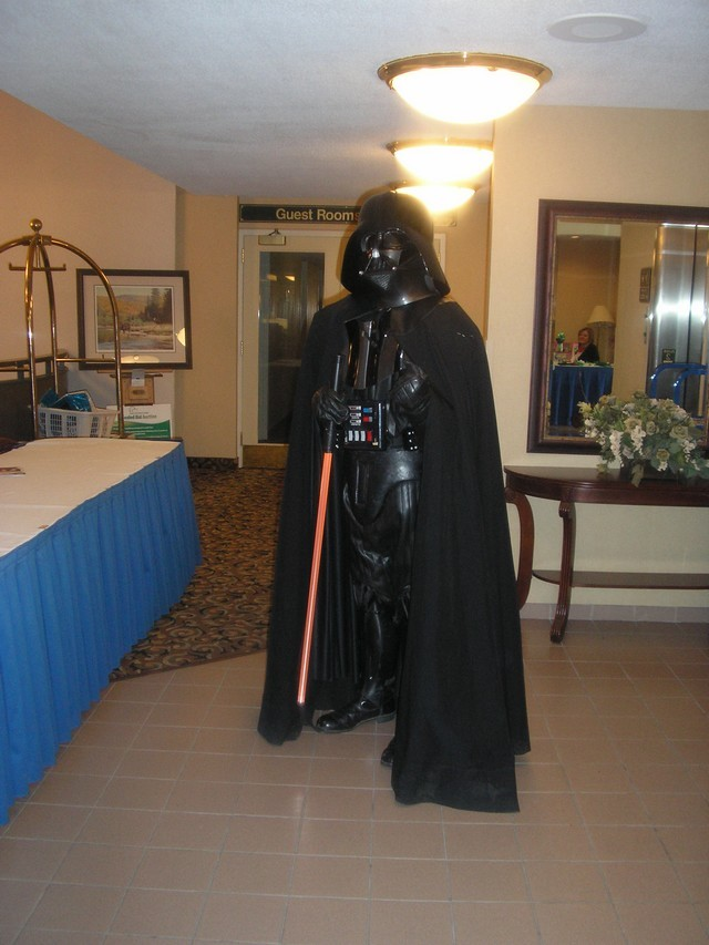 Lord Vader at SciFi on the Rock 5