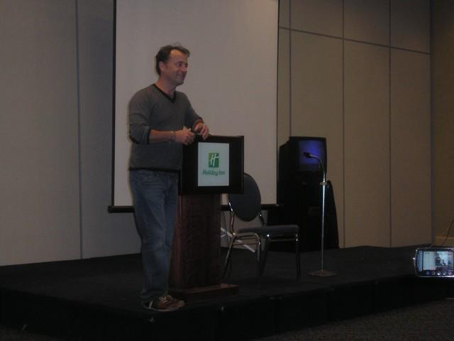Mr. David Nykl at SciFi on teh Rock 5