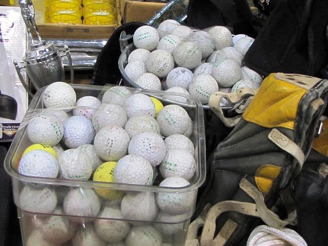 Stargate Maynards Liquidation --more golf balls