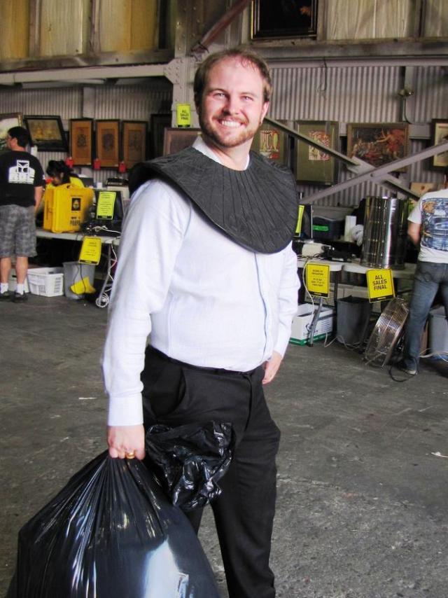 Stargate Liquidation - Man with prop collar