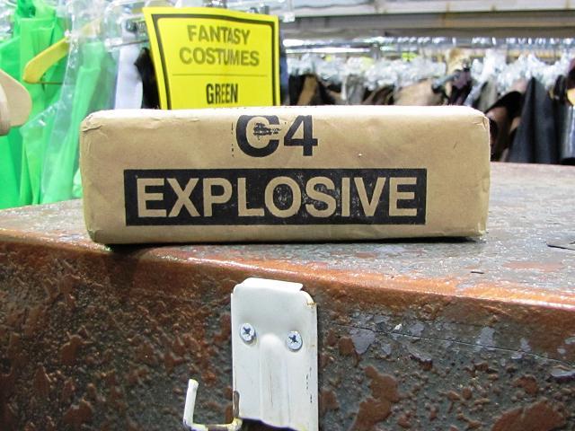 Stargate Liquidation - C4 explosive prop
