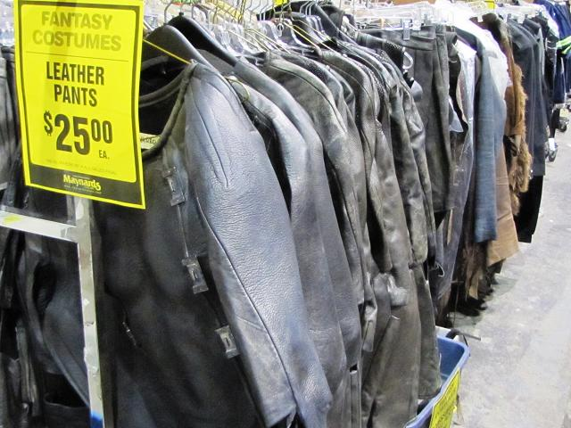 Stargate Liquidation - Leather pants and jackets