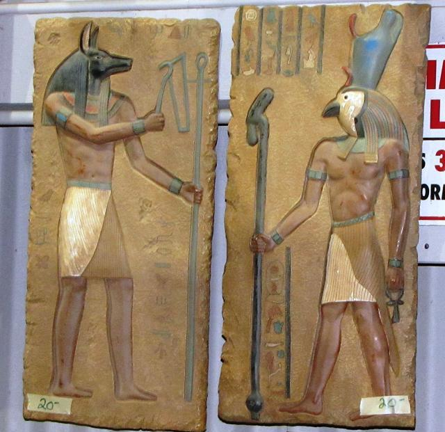 Stargate Liquidation - Egyptian plaques