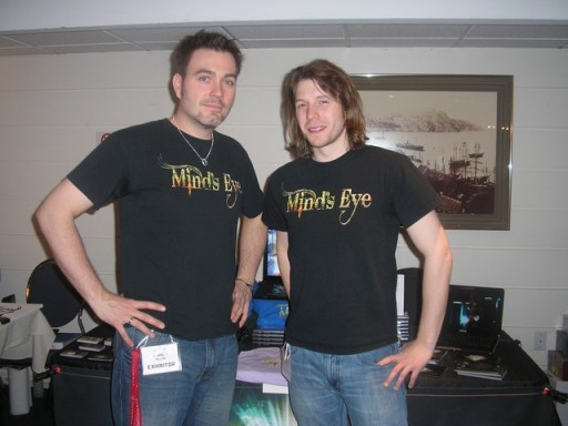 Thomas Gofton and Ton Brown of Mind's Eye web series!