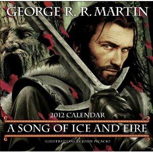 Game of Thrones 2012 Calendar