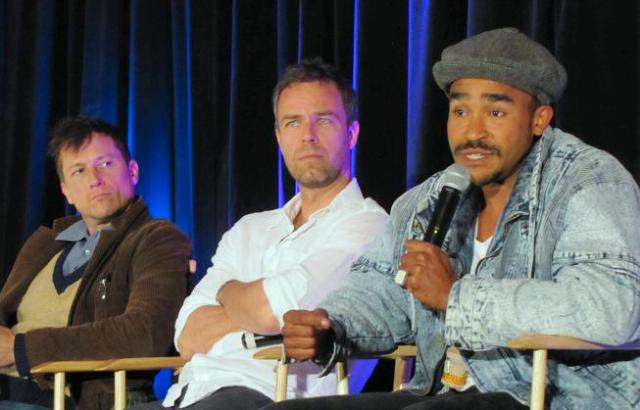 Stargate Vancouver Sunday Corin Nemec, J.R. Bourne and Jamil Walker Smith