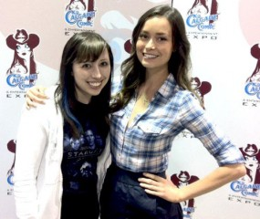 Calgary Expo 2011 - Steph and Summer Glau