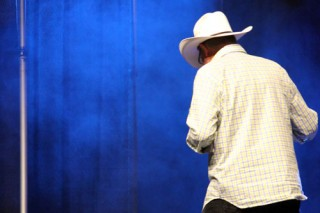 Calgary Expo 2011 - Frakes in Cowboy hat