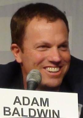 Adam Baldwin of Chuck, Stargate, Firefly and Serenity!