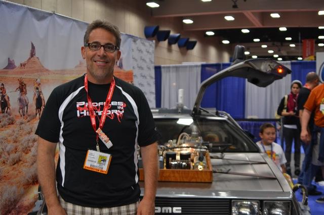 Back to the Future DeLorean SDCC- Joe Maddalena