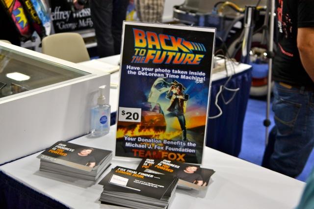 Back to the Future DeLorean SDCC- donations