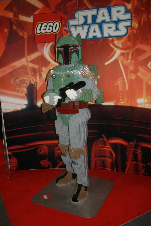 Comic-Con 2011 - Lego Boba Fett