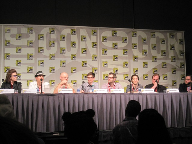 Thursday's Composers Panel at Comic-Con 2011!