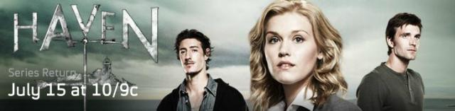 Click to visit and learn more about Haven at Syfy!
