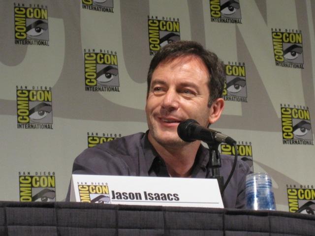 Jason Isaacs enjoying the Awake panel!