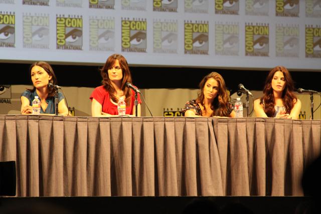 Julia Jones, Elizabeth Reaser, Nikki Reed, and Ashley Greene join Twilight panel