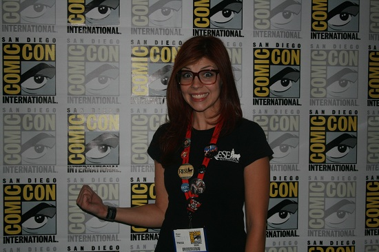 MeaganSue at Comic-Con 2011