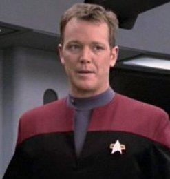 Robert Duncan McNeill of Star Trek Voyager and Chuck