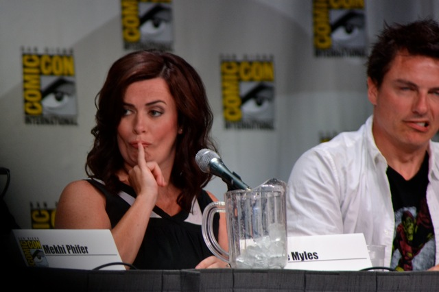 Torchwood SDCC- Eve looking sexy