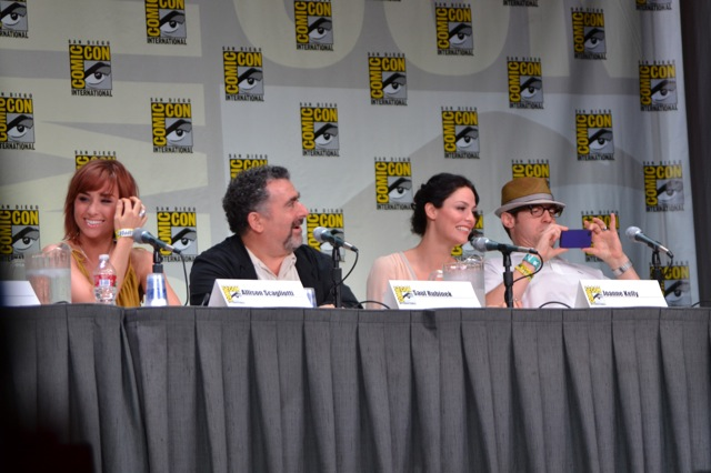 Warehouse 13 SDCC- Cast members