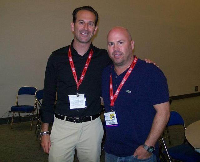 Comic-Con 2011 Falling Skies Press - Darryl Frank and Justin Falvey