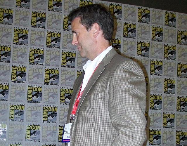 Comic-Con 2011 Falling Skies press - Michael Knight of TBS