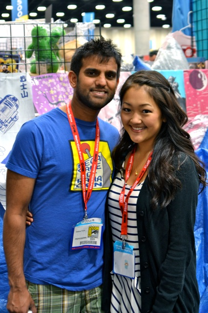 Guild Interview SDCC- Sandeep & Amy