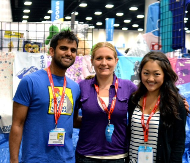 Guild Interview SDCC- Sandeep, Anne & Amy-2