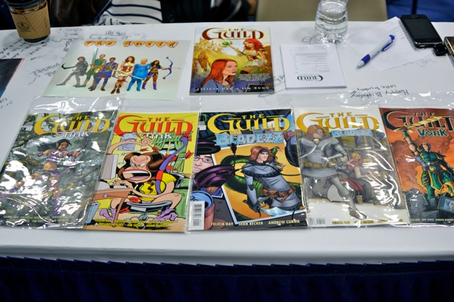 Guild Interview SDCC- guild booth comic