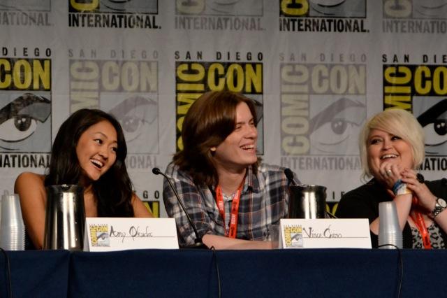 Guild SDCC- Amy, Vince, & Robin