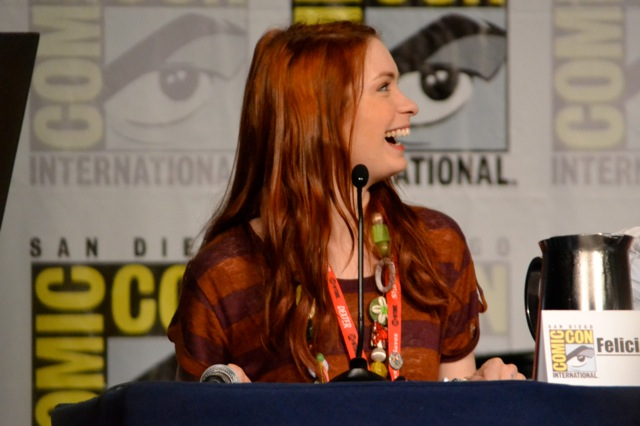 Guild SDCC- Felicia Day Laughing